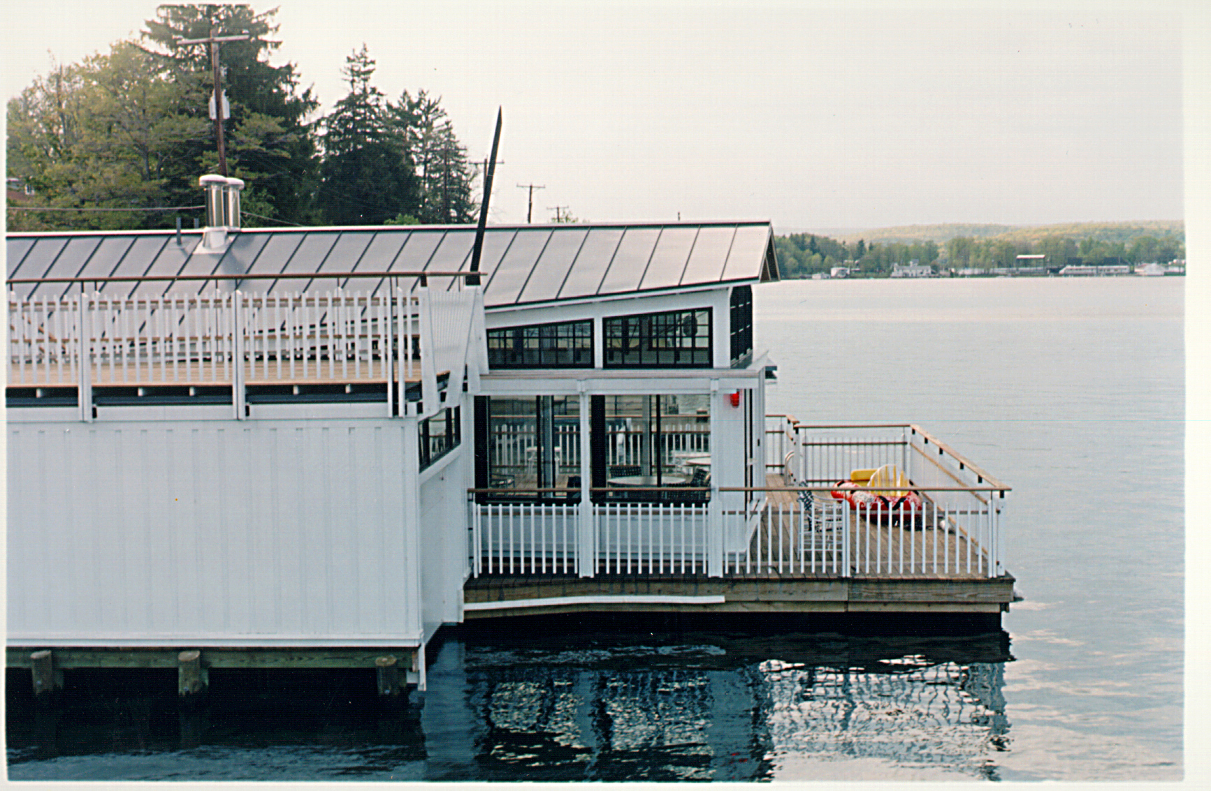 Boat House, Barn, and Dock